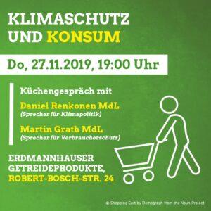 Klimaschutz und Konsum @ Erdmannhauser Getreideprodukte
